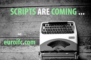 scripts are coming