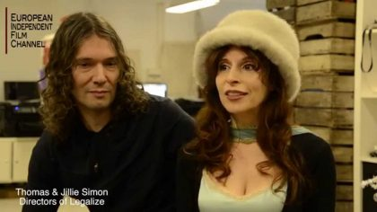 Interview with Jillie & Thomas Simon | directors of LEGALIZE
